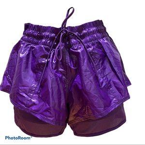 Adidas Stella McCartney 2 in 1 Shorts Size M